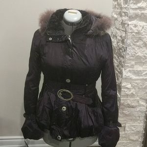 Hikis Purple Winter Jacket